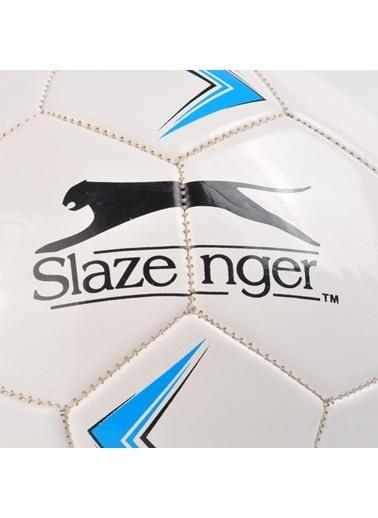 Slazenger Yeşil-Beyaz 5 Numara Futbol Topu Mavi